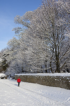 Winter Snow in Northern England