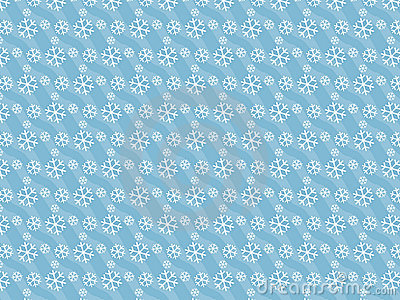 Winter snow pattern