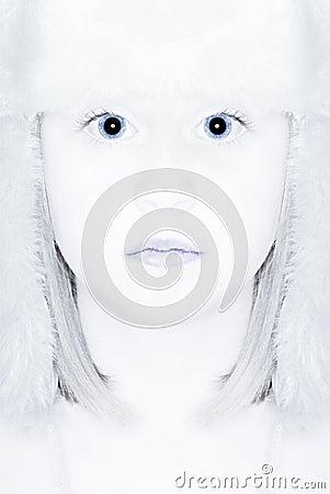 Free Winter Snow Queen Stock Photo - 36984390