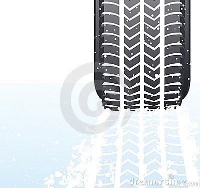 Winter snow tyre