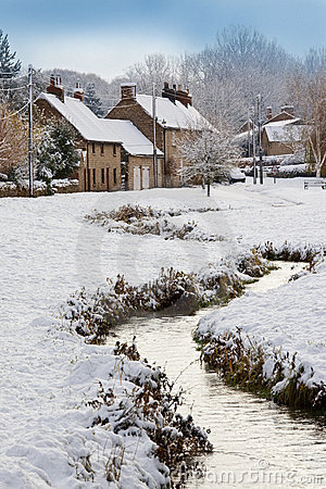 Winter Snow - Yorkshire - England