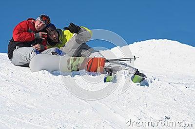 Winter sport lifestyle concept