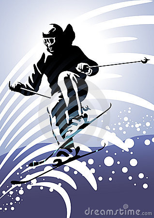 Winter sports #2: Downhill skiing