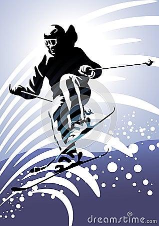 Winter sports #2: Downhill skiing