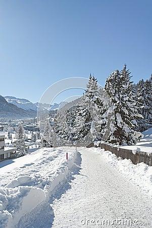 Winter in St. Moritz