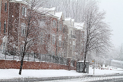 Winter Street in Fairfax