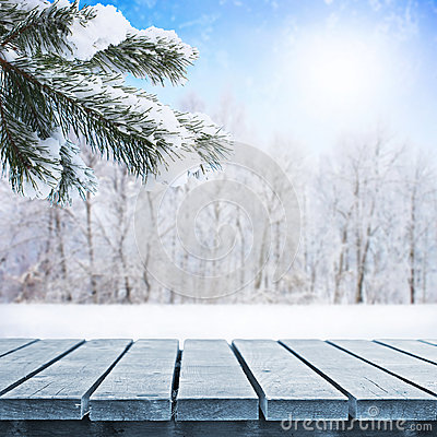 Free Winter Table Royalty Free Stock Images - 36314309