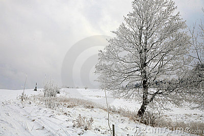 Winter in Table Mountain in Pasterka – Poland