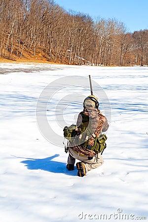 Winter Target Practice
