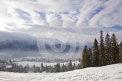 Winter in Tatra mountains