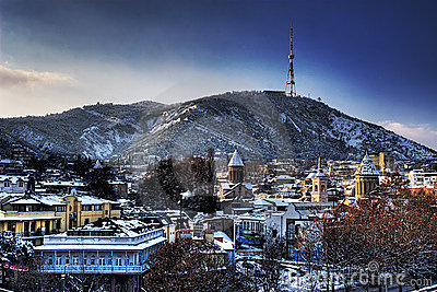 Winter Tbilisi