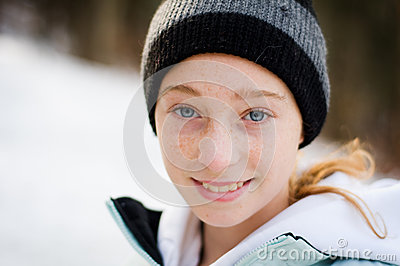 Winter teen