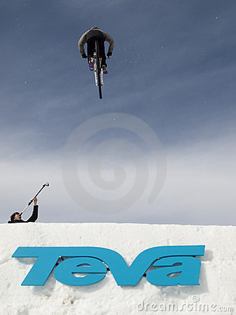 Winter TEVA Mointain Games Editorial Stock Image