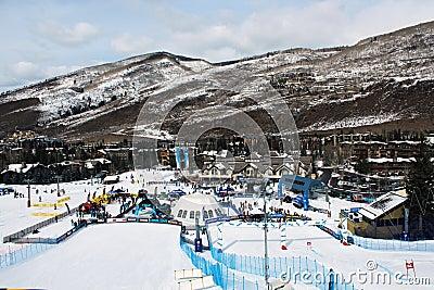 Winter Teva Mountain Games Editorial Stock Photo