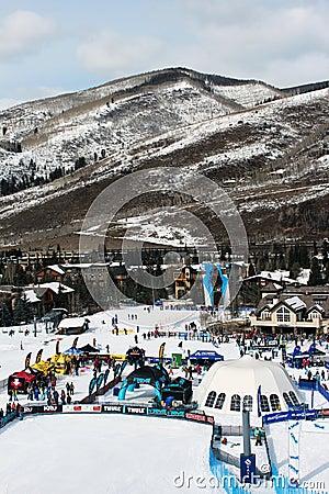 Winter Teva Mountain Games Editorial Stock Image