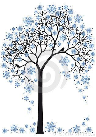 Winter tree,