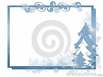 Winter Tree Frame