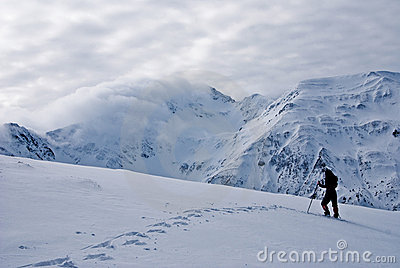 Winter Trekking in Fagaras