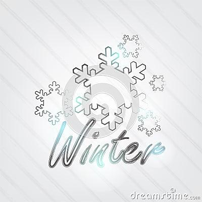 Winter Typography