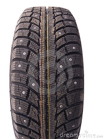 Free Winter Tyre Royalty Free Stock Image - 3840416