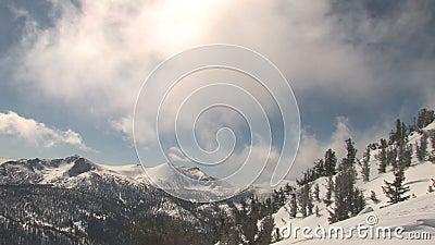 Winter und Schnee stock video footage