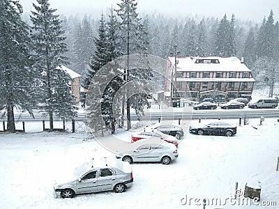 Winter vacation Editorial Stock Photo