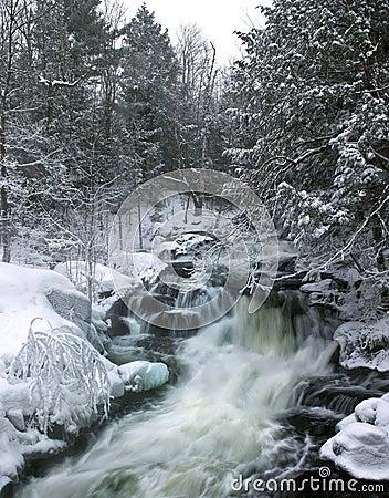 Free Winter Waterfalls Stock Images - 20540814