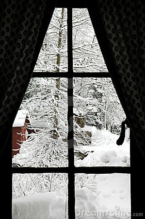 Free Winter Window Royalty Free Stock Photography - 1673987