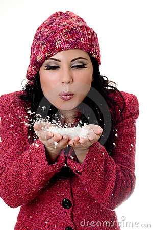 Free Winter Woman Royalty Free Stock Images - 1130619