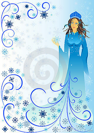 Winter-woman