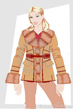 Winter women s clothes.