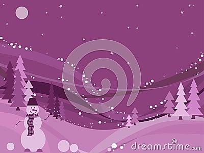 Winter wonderland, vector