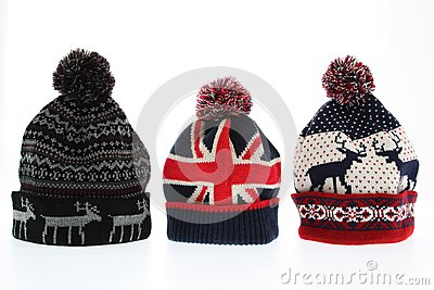 Winter woolen hats