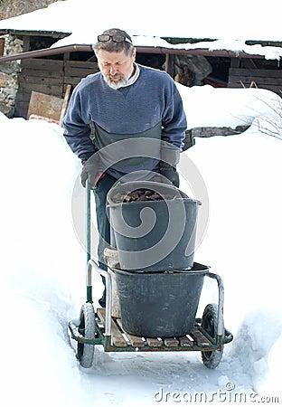 Winter work