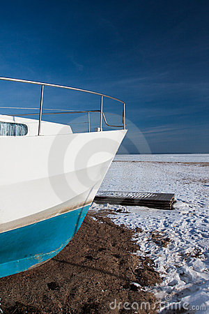 Winter yacht