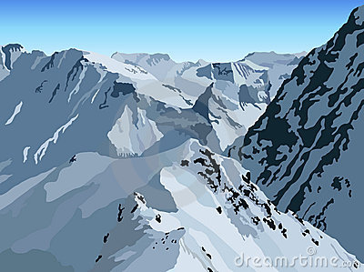 WinterMountain View