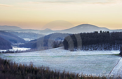 Winters scenery