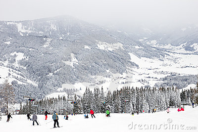 Wintersport skiing Editorial Photography
