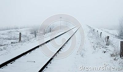 Wintery trip to the infinite