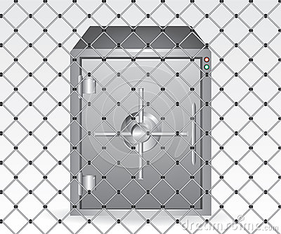Wire and bank safe