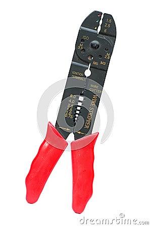 Wire cutter - stripper