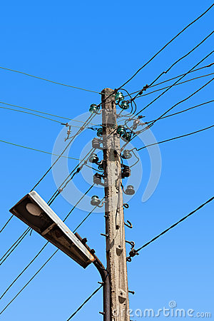 Electric Wire Pole Royalty Free Stock Photo - Image: 32784425