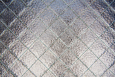 Wire Glass Stock Image Image 8467051