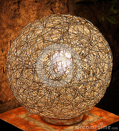 Wire Lamp