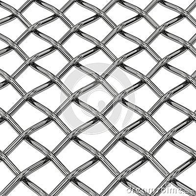 Wire steel net close-up