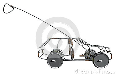 Wire Toy Car Side