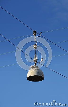 Wired street lamp (unlit)