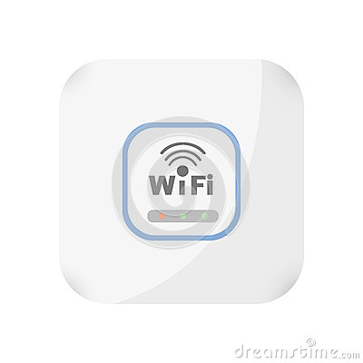 Free Wireless Access Point Concept By Have Not Antenna Royalty Free Stock Photography - 79608517