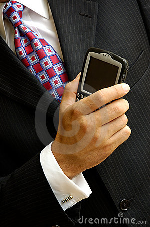 Wireless Businessman