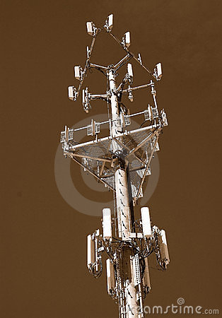 Free Wireless Cell Monopole Royalty Free Stock Images - 4892559